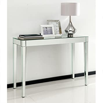 Ordinaire Homesdirect365 Romano Mirrored Console Table