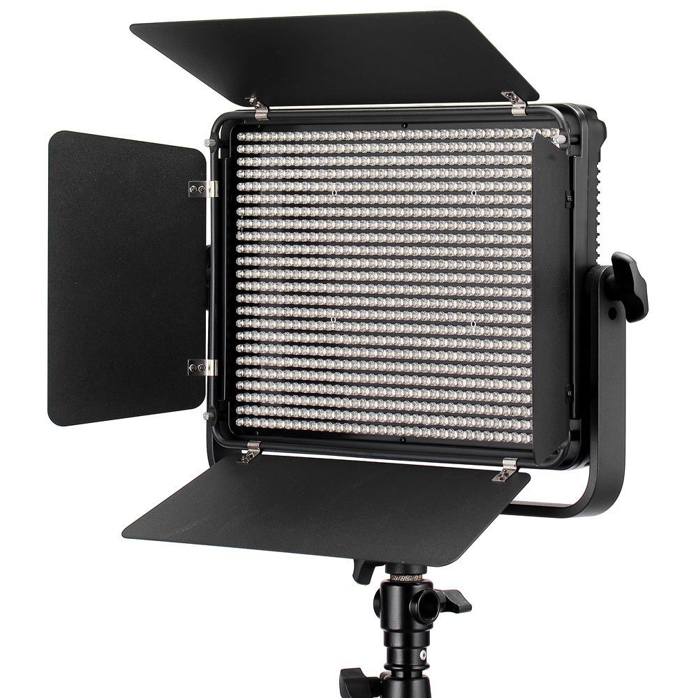 Eoogere ビデオライト 912球 ビデオ録画&写真撮影ライト 6600LM 3200-5600K色温度調整 2.4 Ghz 無線リモコン AC アダプター付き   B01M2C234C