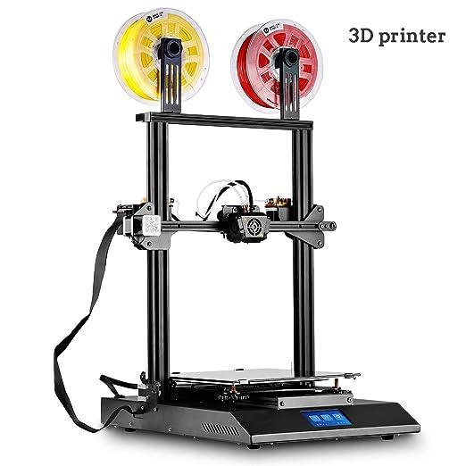 QinLL Impresora 3D, Impresora 3D Semi-ensamblada en Color de ...