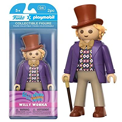 Funko Playmobil: Willy Wonka - Willy Wonka Vinyl Figure: Toys & Games