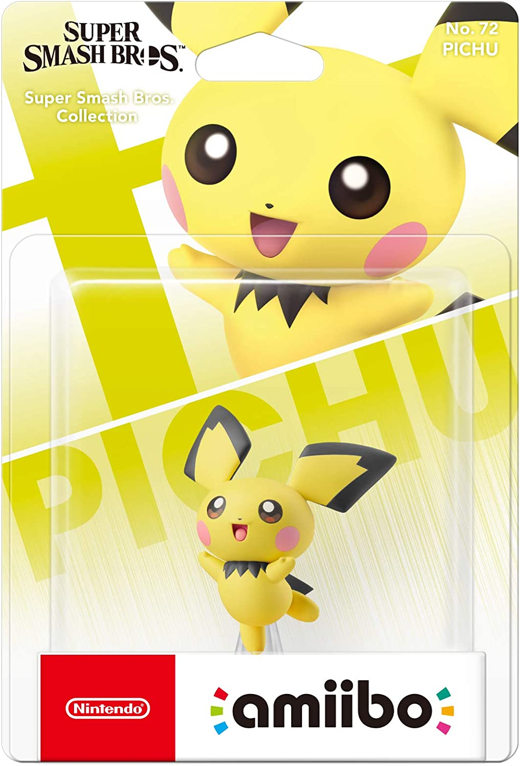 Nintendo Super Smash Bros Amiibo - Pichu: Amazon.es: Videojuegos