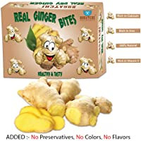 BOGATCHI Cold and Cough Remedy - Real Ginger Bites, Healthy and Tasty Real Ginger (Dried), 200g, Natural Remedy for Cough and Cold