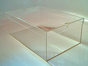 Shoe Box/display Box With Lid For Acrylic, Storage Box, Storage Box,