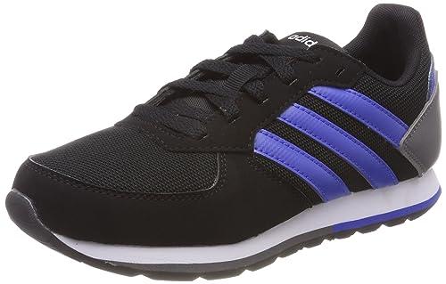 new products be275 e7443 adidas 8k K, Zapatillas de Gimnasia Unisex Niños, (Core Blackhi-Res Blue  S18grey Four F17), 40 EU Amazon.es Zapatos y complementos