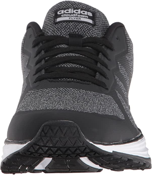 adidas NEO Women's Cloudfoam Flyer w Running Shoe, Black