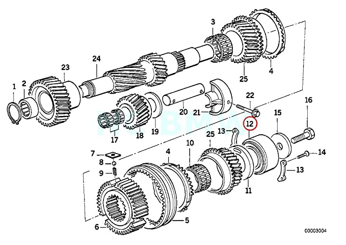 bmw m3 smg transmission diagram