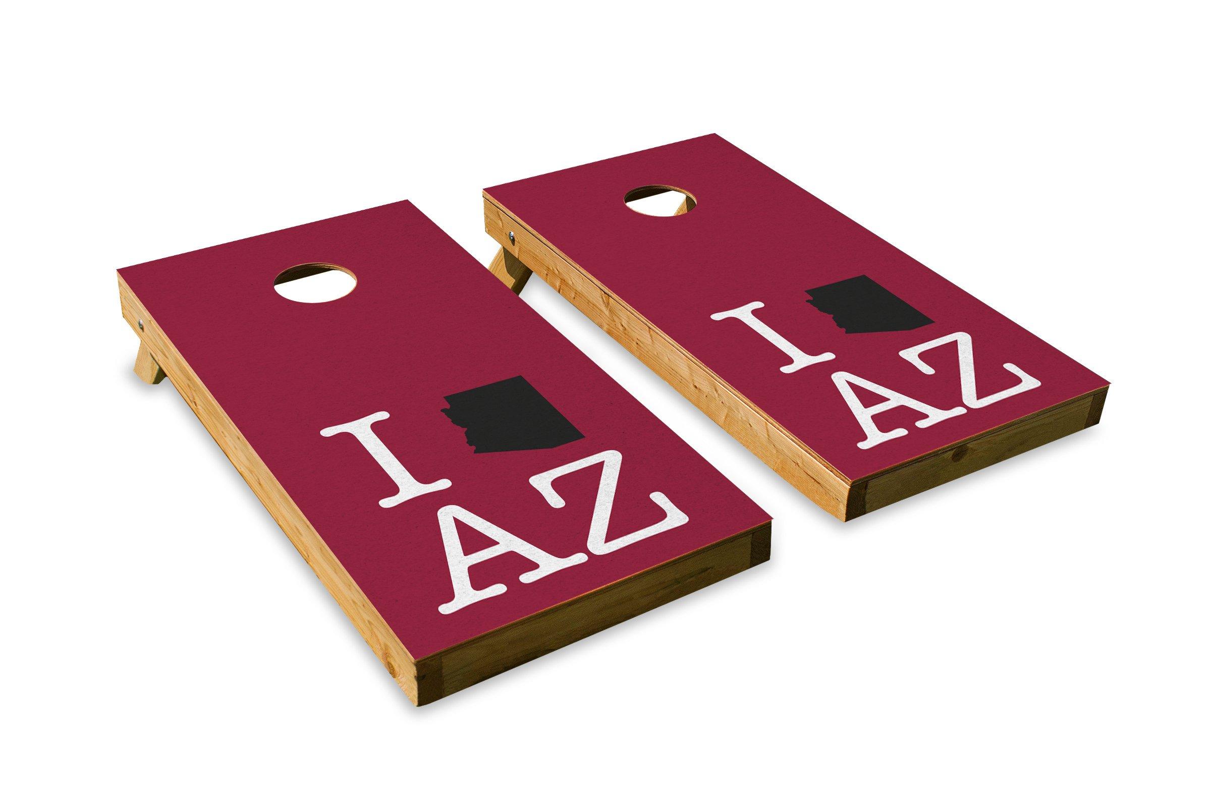 Arizona Football State Pride - Cornhole Crew - ACA Regulation Size Cornhole Board Set
