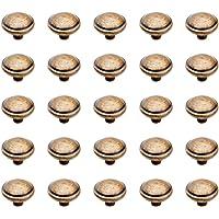 Emuca 9160008 Pomolo per mobile, Ø32mm, Zama, Bronzato, Set di 25