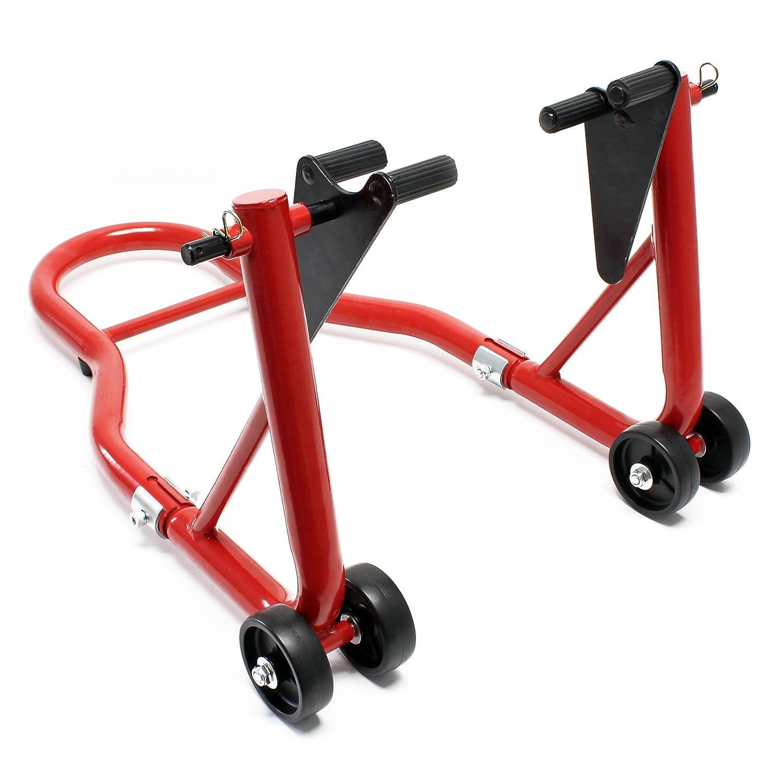 Béquille d'atelier pour moto avant 450kg support roue élévateur levage stand range lift fourche