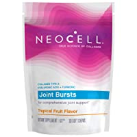 NeoCell Joint Bursts with Type 2 Hydrolyzed Collagen for Joint Support, Gluten-Free...