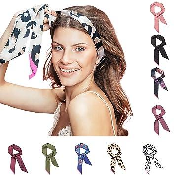 Pony Puffin Haarband Braid Bow Verschiedene Farben Kopfband 120 X 7 Cm Stirnband Seidenmatte Optik Bandana Fur Flechtfrisuren Lila