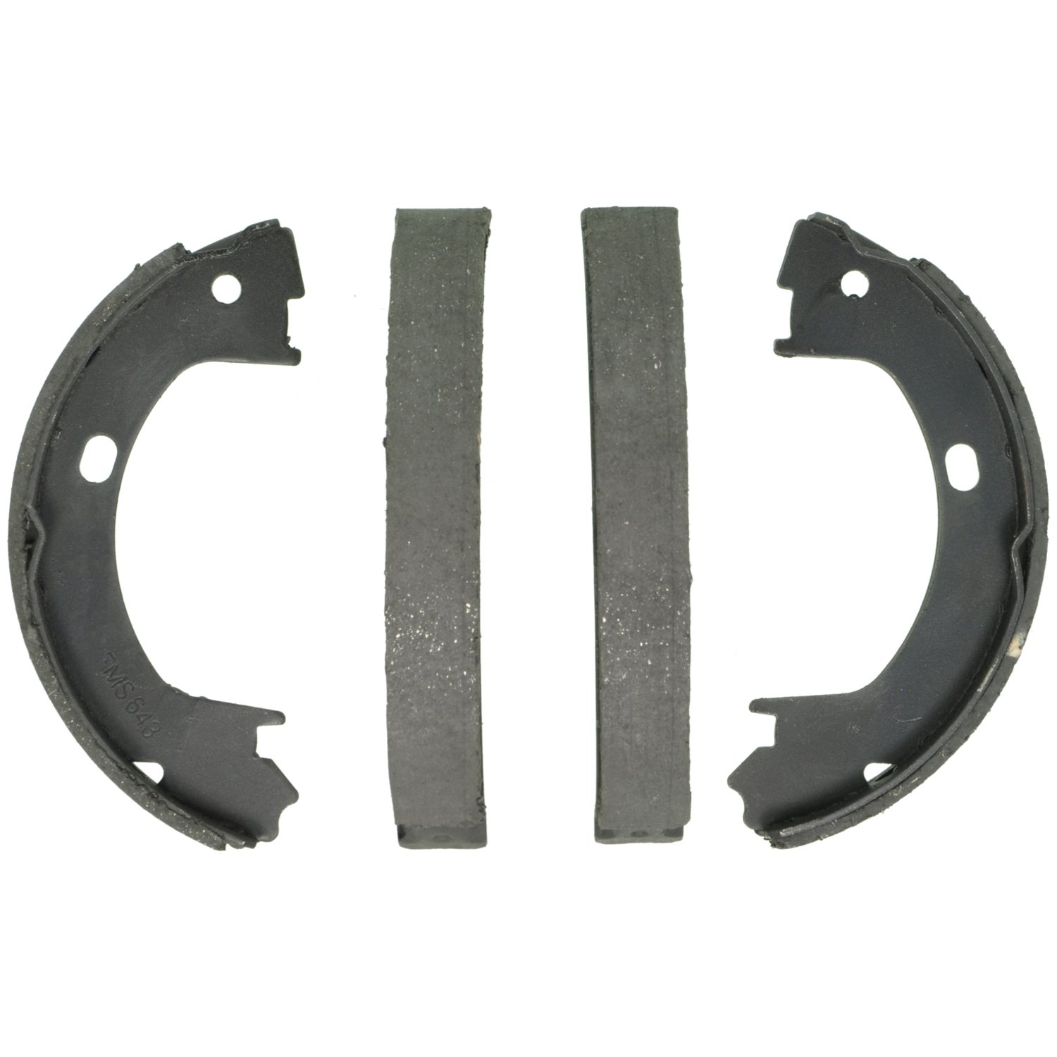 Wagner QuickStop Z643 Parking Brake Shoe Set, Rear