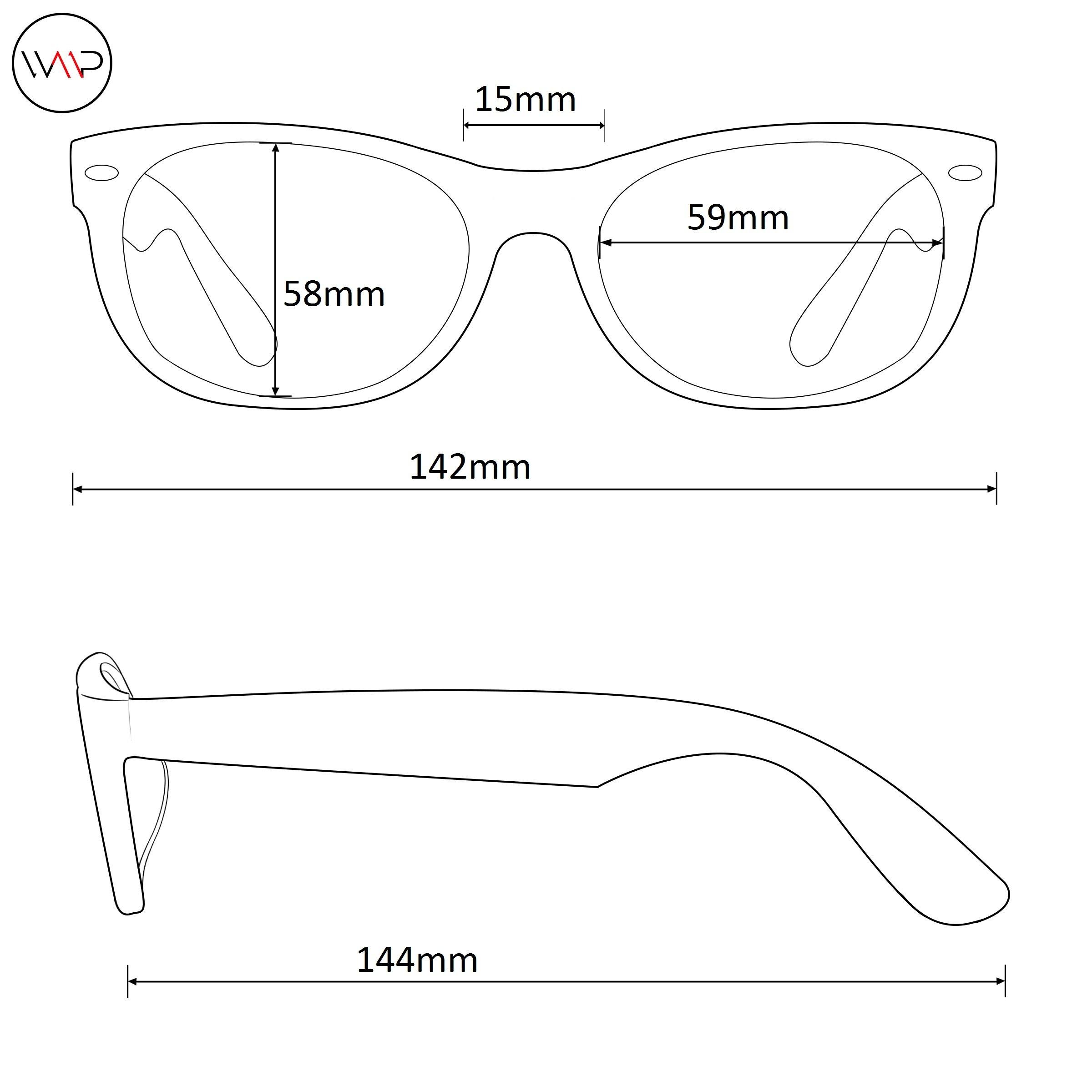 9bd4b8807db WearMe Pro – Colorful One Piece Transparent Round Super Retro Sunglasses