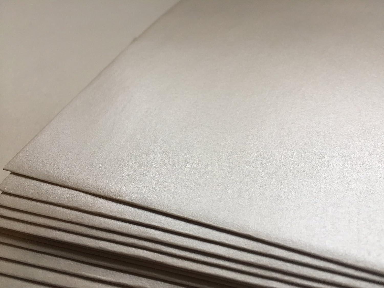 100 sobres de nácar, de color perla, White Pearl, 220 x 110 mm, cierre autoadhesivo con tira, Premio: 100 g/m² umschlag-discount OT-10120