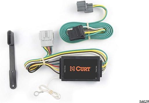 Amazon.com: CURT 56029 Vehicle-Side Custom 4-Pin Trailer Wiring Harness for  Select Honda Element: Automotive | 2005 Honda Element Trailer Wiring |  | Amazon.com
