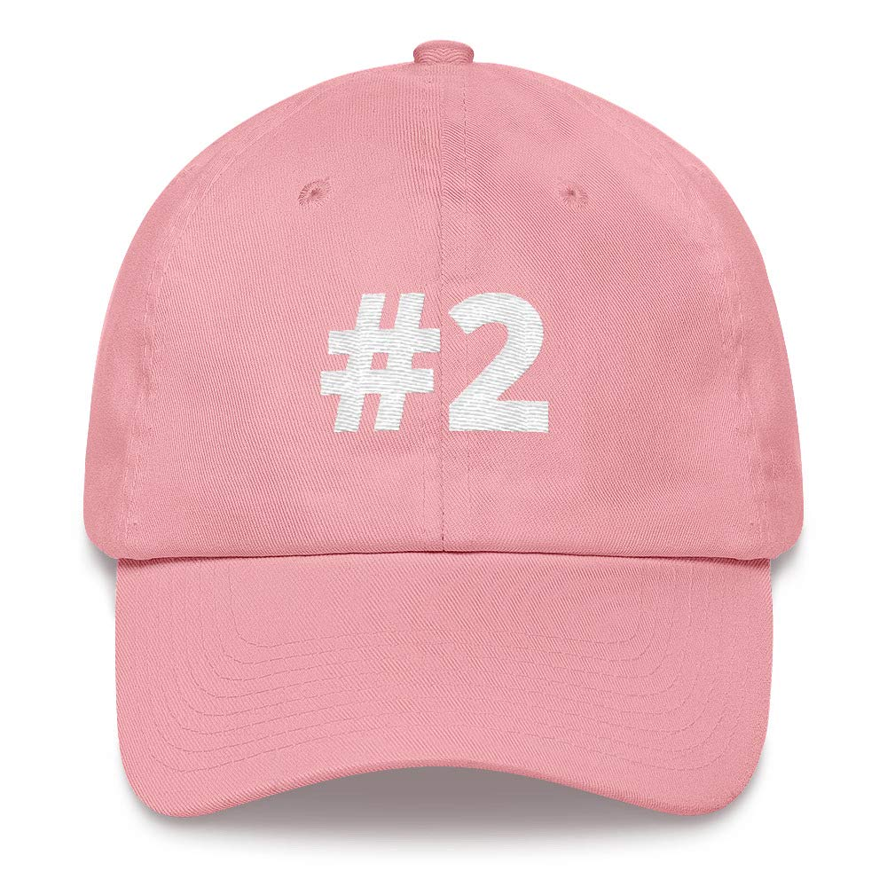 Alpha5StarDeals #2 Sport Team Jersey Number Dad hat