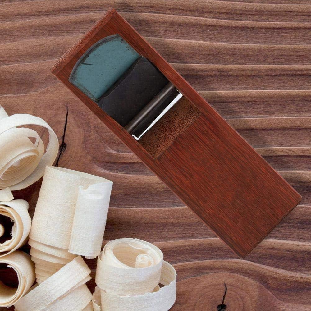 Asixx Plano de Carpintero 180mm alisado de Madera Herramienta Woodcraft para Cortar pulir y desbarbar Superficies de carpinter/ía Cepillo de Mano de Madera