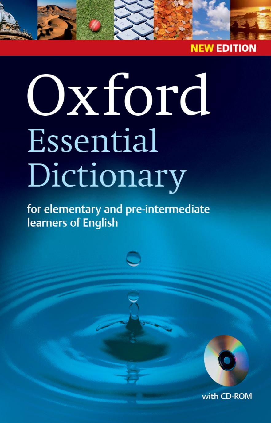 Oxford Essential Dictionary with CD-ROM: For Elementary and Pre-Intermediate Learners of English