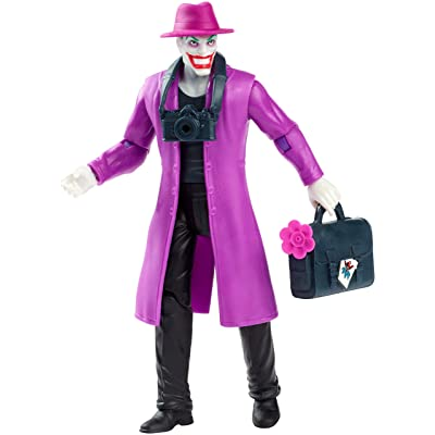 DC Comics Batman Missions: The Joker Action Figure: Toys & Games