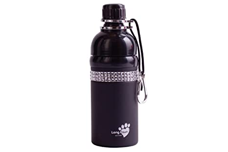 Amazon.com: good life Gear Pet botella de agua de acero ...