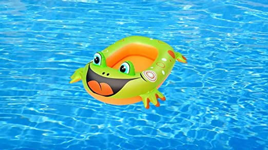 Cute Inflatables Barco Rana Verde Hinchable para Niños | ¡Gran ...