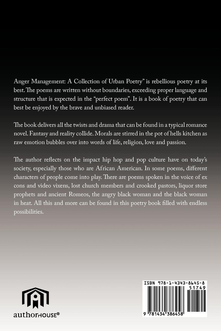 Anger Management: A Collection Of Urban Poetry