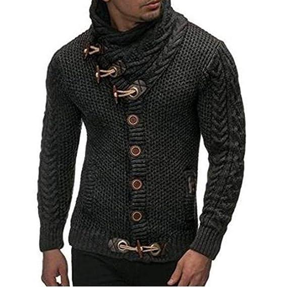 0801d1d161df wieilinchn 2018 Autumn Winter Sweater Cardigan Men Brand Casual Slim ...