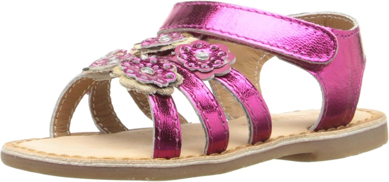 d78576c1c5057 Amazon.com | Pazitos Baby Girl's Mini Burst Sandal (Toddler) | Sandals