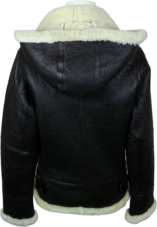 Airforce jacket padded true black