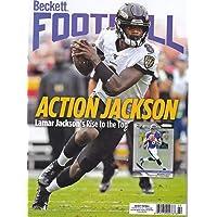 February 2020 Beckett Football Price Guide Magazine Vol 33 No 2 Lamar Jackson