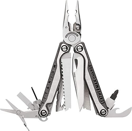 The Leatherman Charge TTi is slightly bigger than the P4