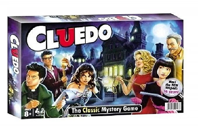 Jaynil Enterprise The Classic Cluedo Mystery Friends and Family Entertainment Board Game