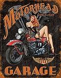 Legends - Motorhead Garage Tin Sign , 12x16