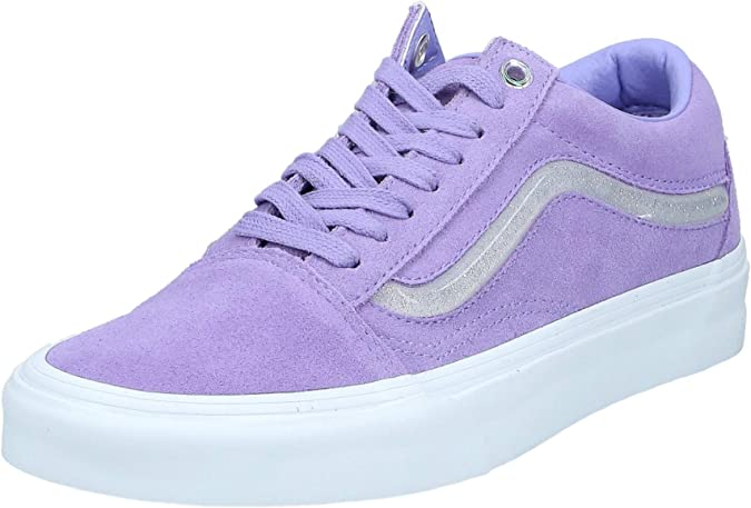 Vans Old Skool Shoes 39 EU Jelly Sidestripe Violet Tulip