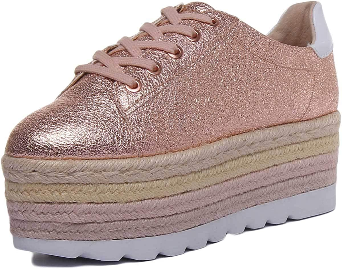 guess rose gold sneakers