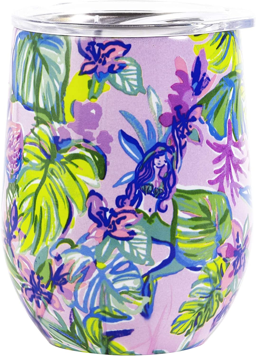 Lilly Pulitzer Insulated Stemless Tumbler Mermaid In The Shade One Size