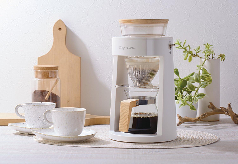 APIX 『Drip Meister』 コーヒーメーカー ホワイト ADM-200-WH