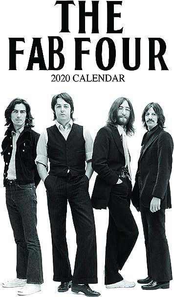 Calendario 2020 de The Beatles: Amazon.es: Oficina y papelería