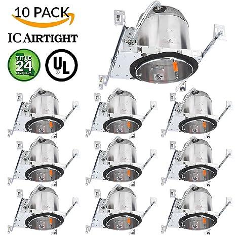 Sunco Lighting 10 Pack 6\