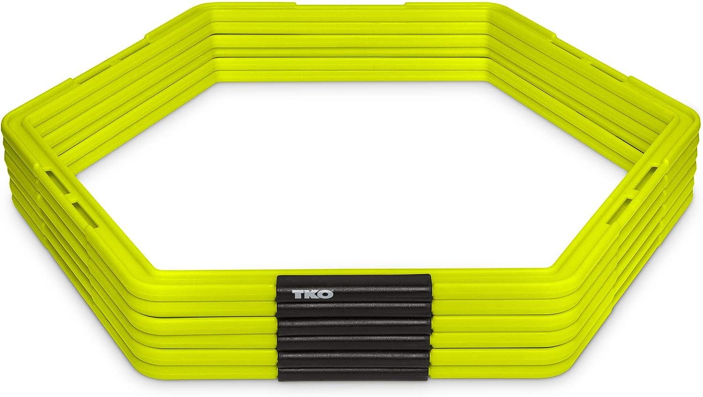 Easy Storage /& Portability Multi Sport Speed Training Ladder No Tangle Ladder TKO Step Speed /& Agility Training Set