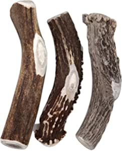Deer Valley Chews Premium Deer Antler for Dogs - Large 6-7 Inches Long - All Natural Dental Treat for Teething and Chewing - Premium Grade, Naturally Shed
