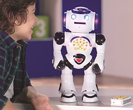 Wei/ß Lexibook Powerman Roboter - Spanische Version ROB50ES