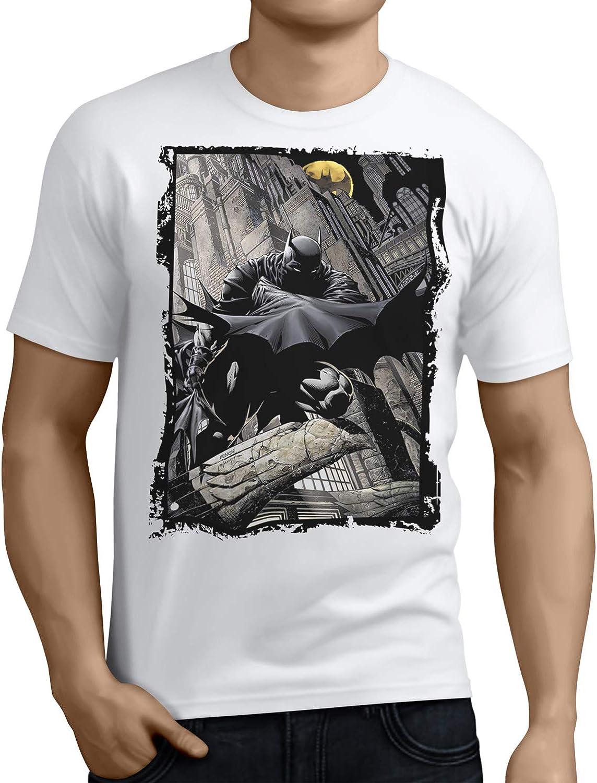 Camiseta Hombre - Unisex Superhéroe Batman: Amazon.es: Ropa y accesorios