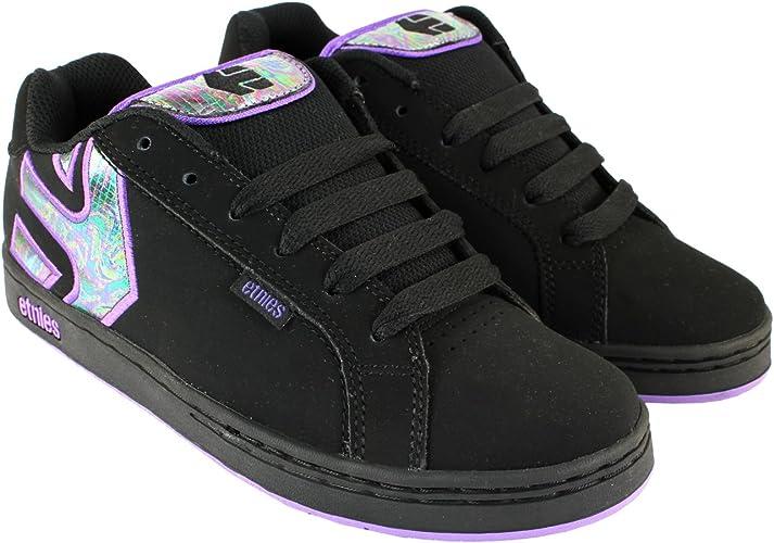 Etnies Womens Fader Skate MID TOP Black