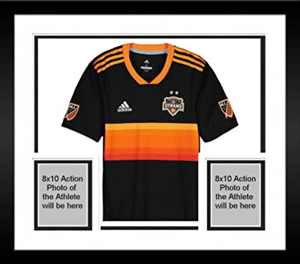 uk availability 74353 0d5bd Framed Alberth Elis Houston Dynamo Autographed Match-Used ...
