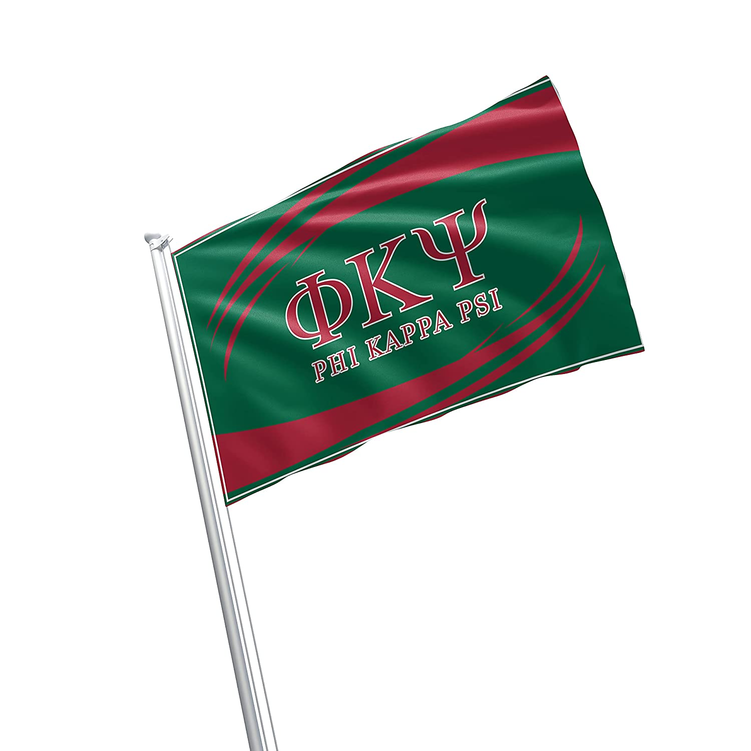 Phi Kappa Psi Fraternity Greek Life Licensed Flag 3x5 Feet Flag Banner Wall Decor Outdoor Indoor Decoration Brass Grommets Double Stitch