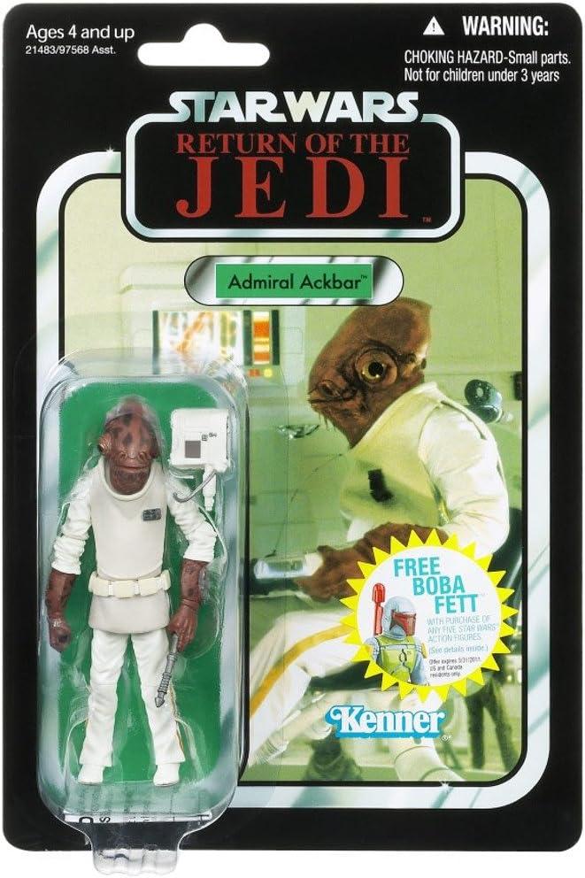 "Star Wars Vintage Collection 3 3/4"" Admiral Ackbar Action Figure"