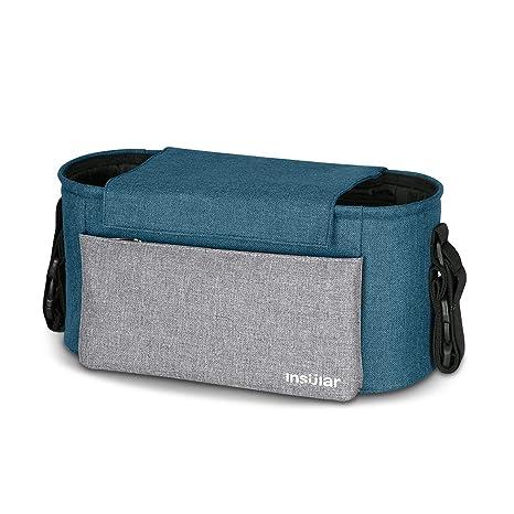 SONARIN Waterproof Bolsa Organizadora para Cochecito de Bebé Changing Bag,Bolso de mano,Capacidad