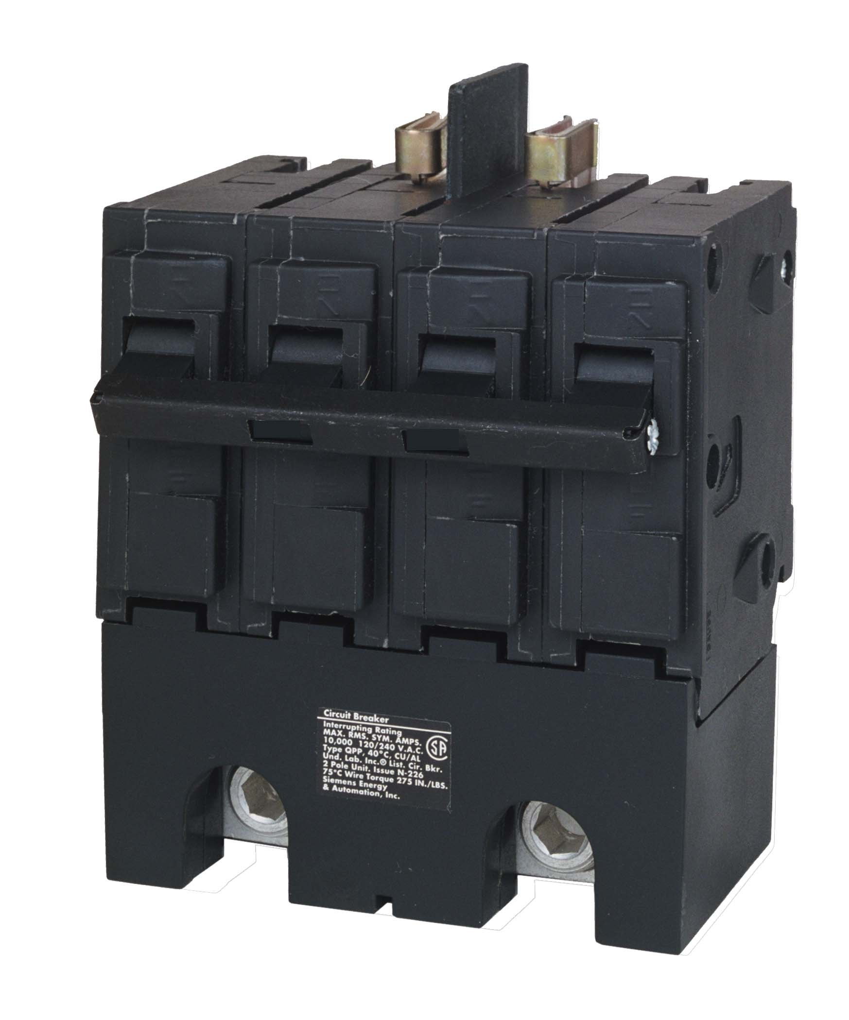 Siemens Q2150B 150A 4 Pole 120/240-Volt 10K type QPP Circuit Breaker by SIEMENS