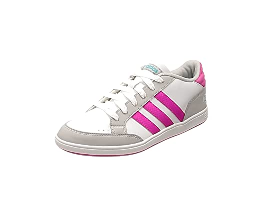 Adidas Hoops Zapatillas clásicas Blancas Mujer Niña (36 2/3 EU)